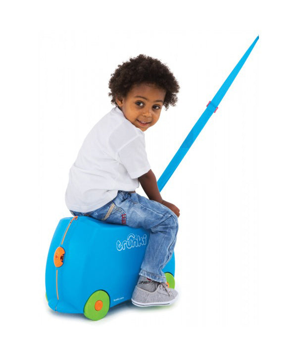 Trunki Ride-On Suitcase -Terrance Blue