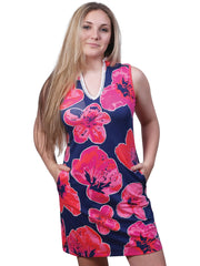 Layton Sleeveless Printed Dress