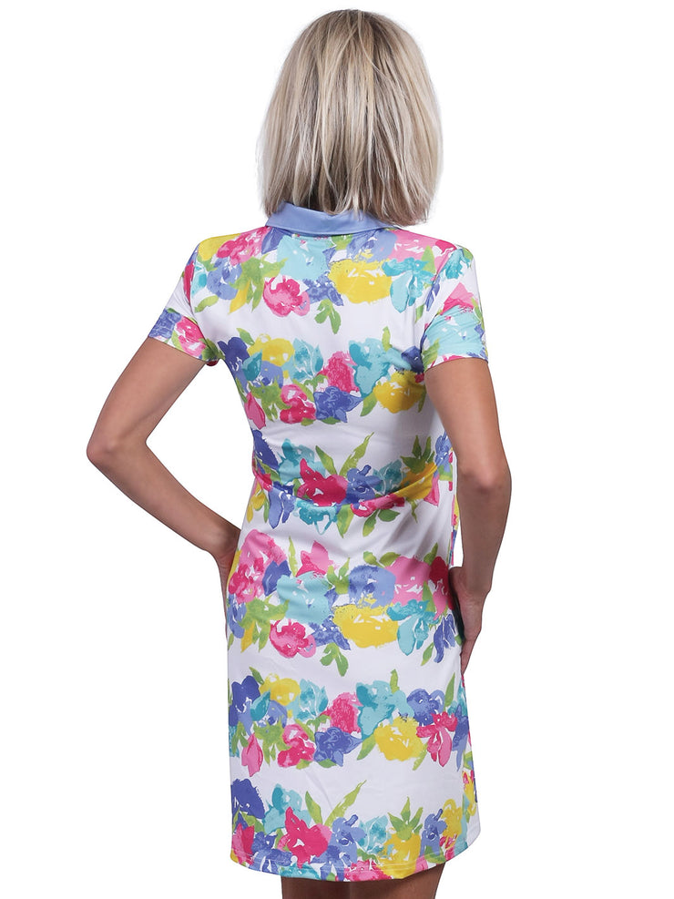 Bailey Printed Polo Dress