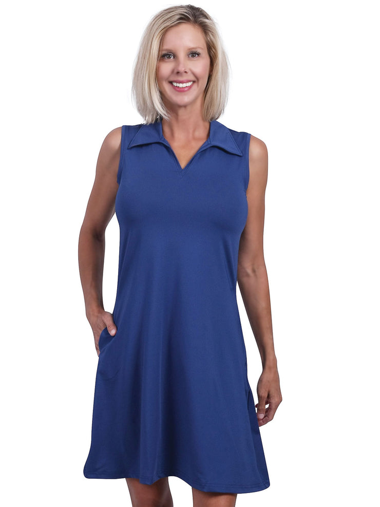 Lili Solid Swing dress