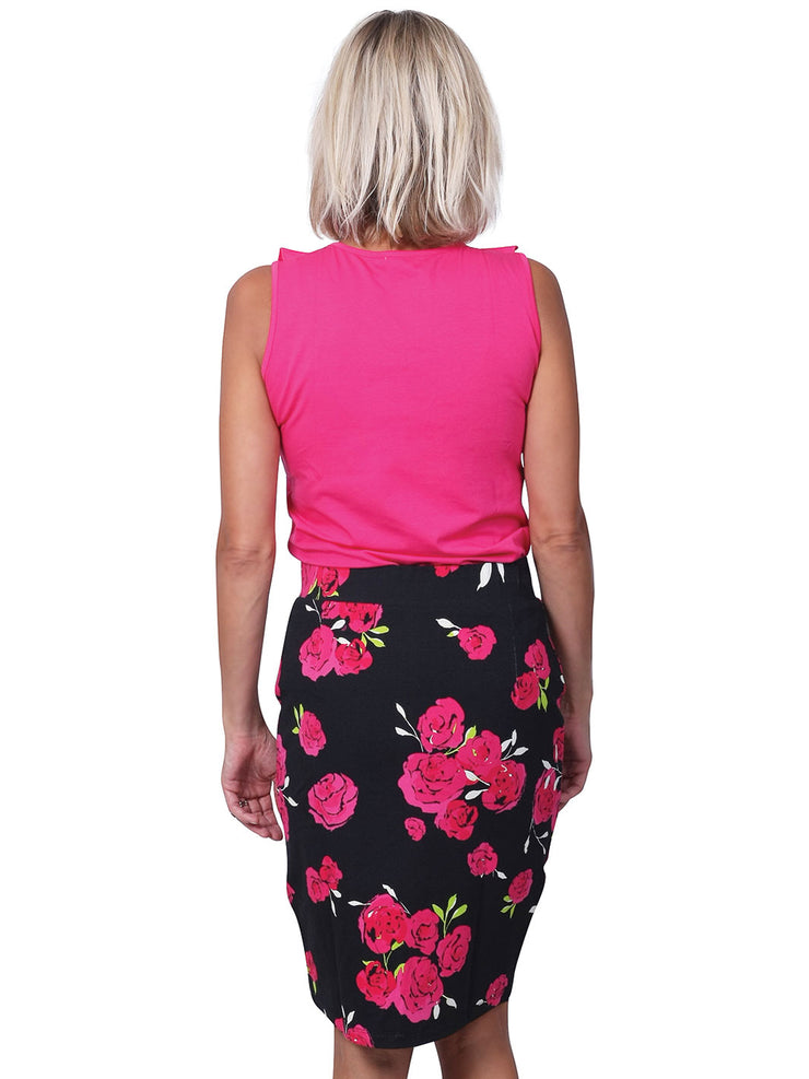 Penny Reversible Printed Skirt