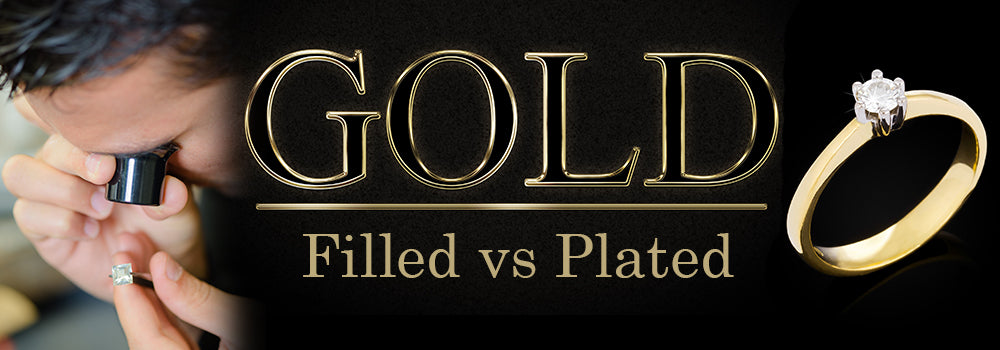 Filled gold and gold-plated jewelry: what is the difference ?