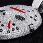 DIAMONDSHAPE 200000162 Icy Friday the 13th Mask Pendant  | DiamondShape©
