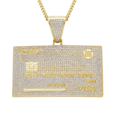 hip hop pendant credit card