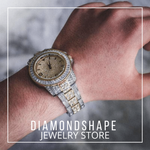 Hip Hop Watch <br> Iced Out Bling Watch Dubai - DIAMONDSHAPE