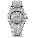 DIAMONDSHAPE Watches Hip Hop Watch <br> Iced Out Reloj Hombre Watch Hip Hop Watch <br> Iced Out Reloj Hombre Watch  | DIAMONDSHAPE