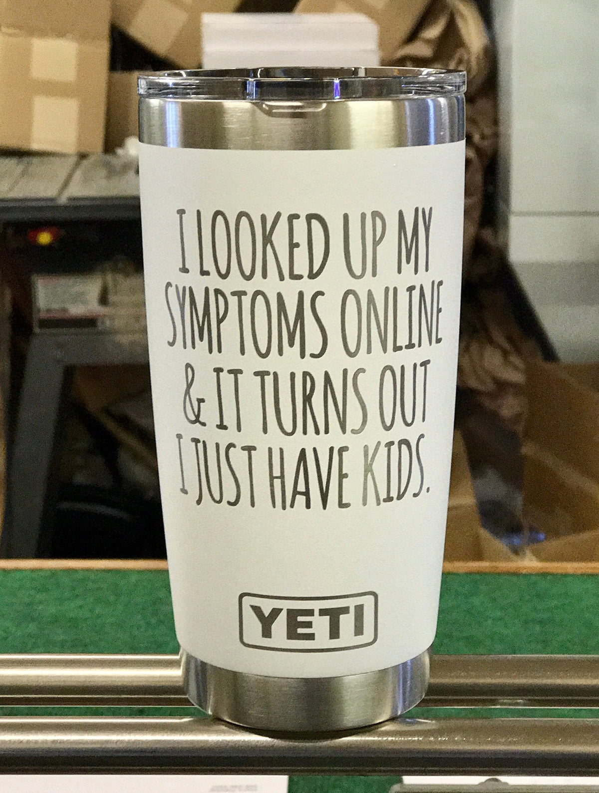 Laser Engraved Authentic Yeti Rambler - WebMD