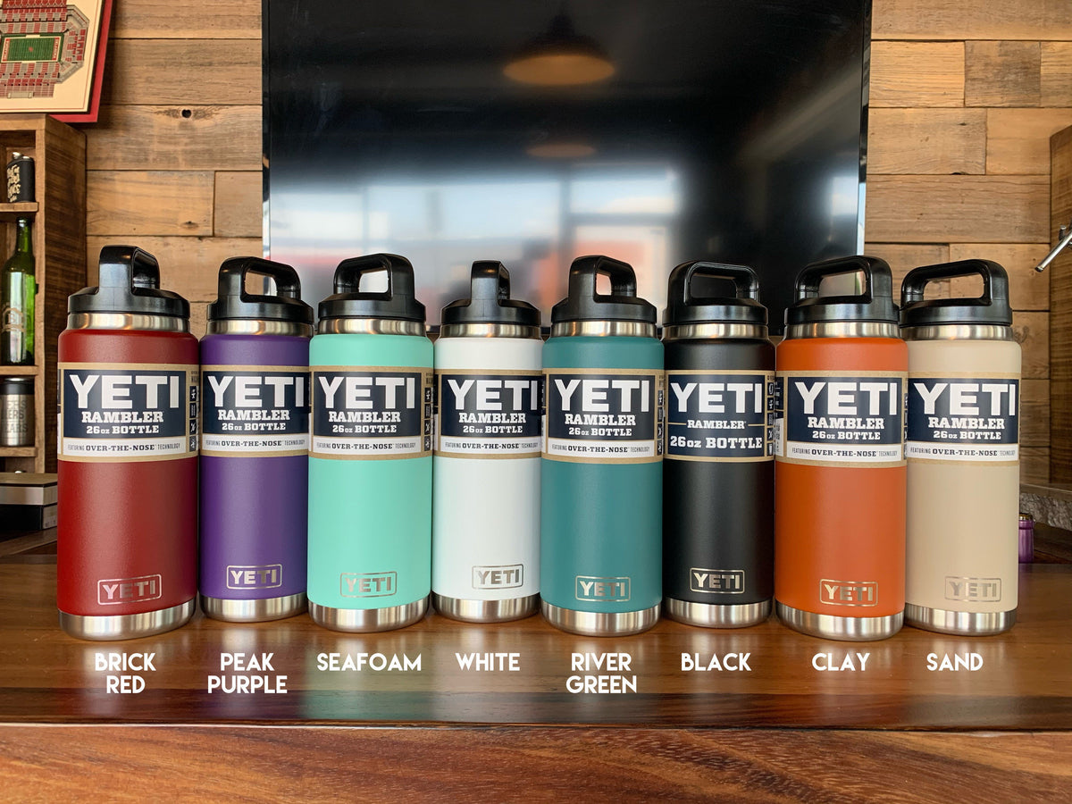 PERSONALIZED Authentic Yeti 26 oz Bottle - LASER ENGRAVED