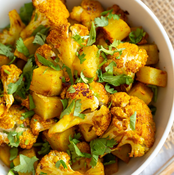 Aloo Gobhi. Frozen. DOUBLE Portion. VEGAN