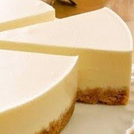 CHEESECAKE.  Single Cheesecake.  Plain. Choose Topping.