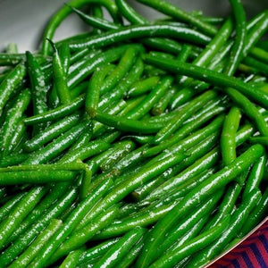 BEANS, GREEN. Single Portion.  150 grams.
