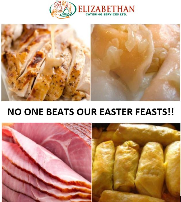 EASTER FEAST FOR 2. ROAST TURKEY or BEEF (FRESH)