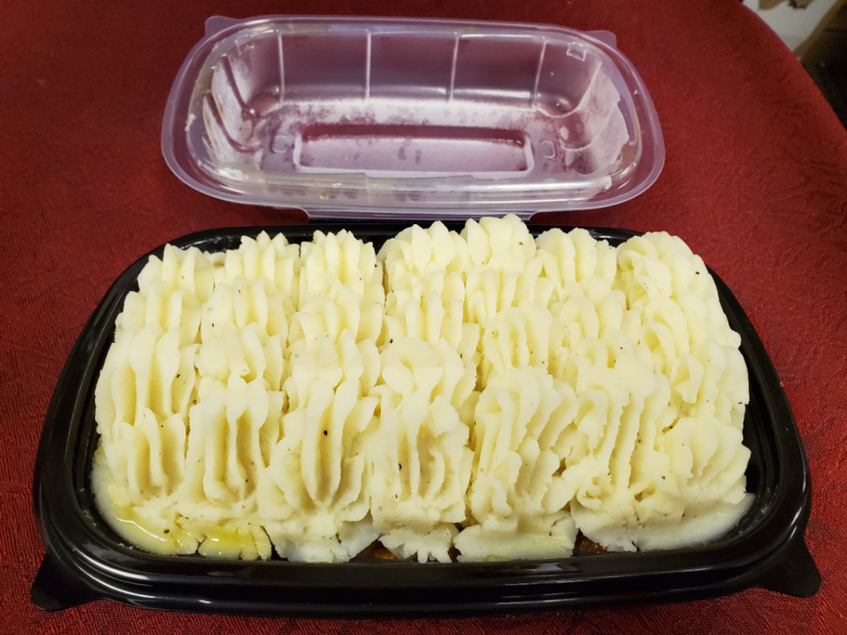 SHEPHERD'S PIE, Frozen Meal; 2 - 4 Portions.