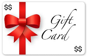 Gift Card. $25.00. $50.00. $75.00. $100.00. $150.00.