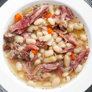 SOUP, WHITE BEAN AND HAM. I Liter. (4 Cups)