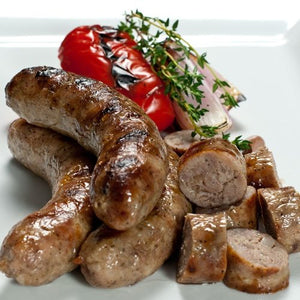 SAUSAGE, TOULOUSE.   2Kg Case.  GLUTEN FREE.