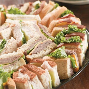 SANDWICH TRAY. Single Trays. Choose Small. Medium or Large.