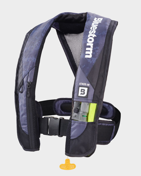 The Atmos 40 <h5>Apex Black Inflatable Life Jacket</h5>