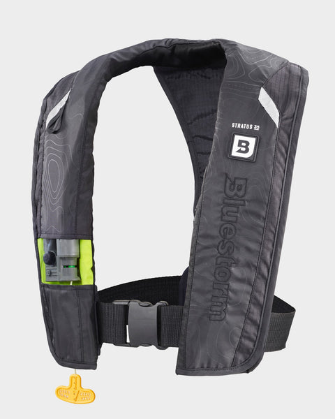 Stratus 35 <h5>Apex Black Inflatable Life Jacket</h5>