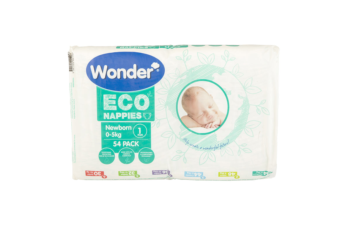 wonder eco bulk pack newborn size 1 horizontal