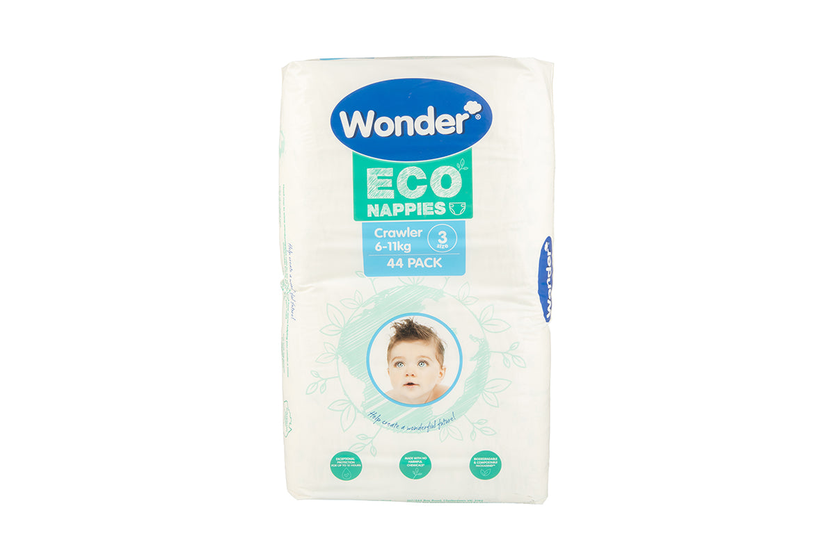 wonder eco nappy bulk pack size 3 crawler horizontal