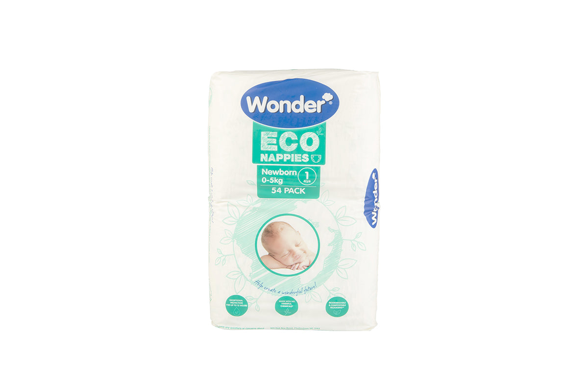 wonder eco bulk pack newborn size 1 vertical