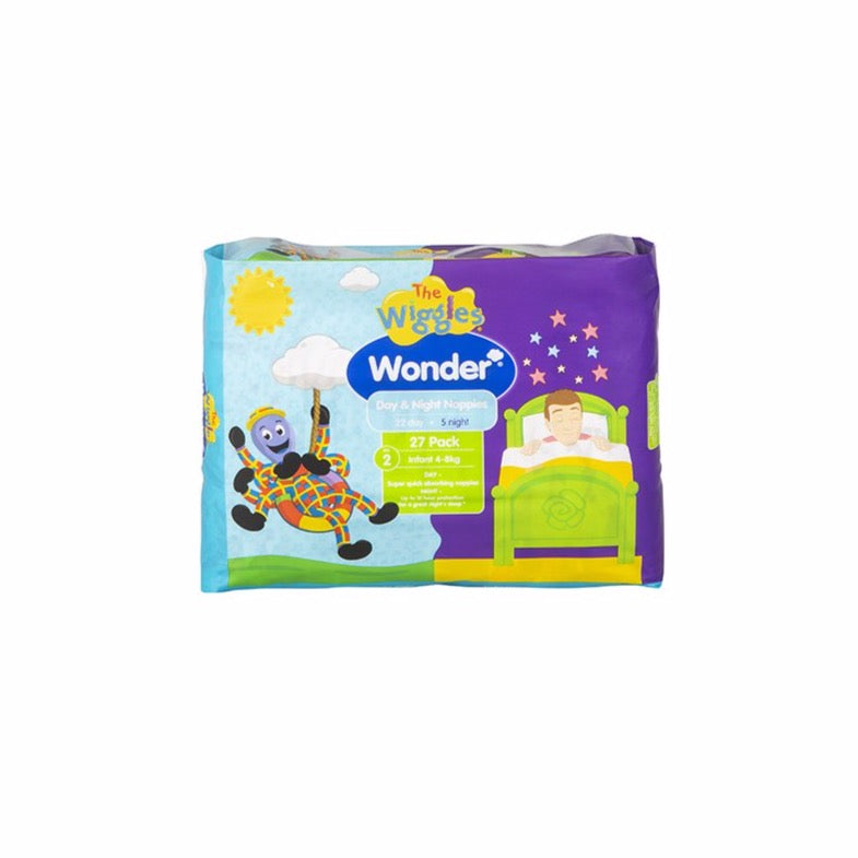 Wiggles Wonder Day & Night Nappy - Infant