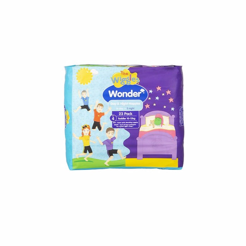 Wiggles Wonder Day & Night Nappy - Toddler