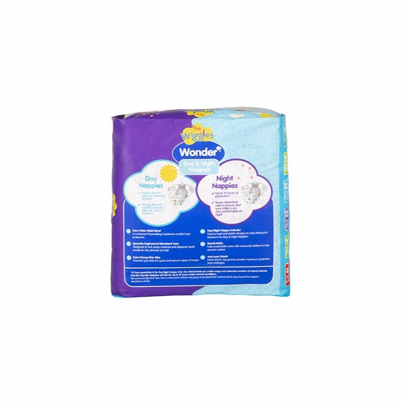 Wiggles Wonder Day & Night Nappy - Junior