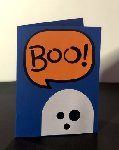 Boo Word Bubble - Kards By Kyla