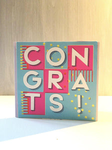 Congrats (Geometric) - Kards By Kyla