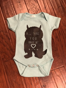 Custom Onesie - Kards By Kyla