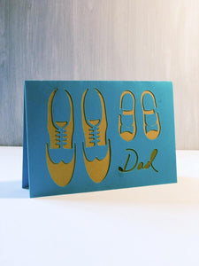 Dad (Shoes) - Kards By Kyla