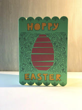 Load image into Gallery viewer, Decorative Hoppy Easter - Kards By Kyla