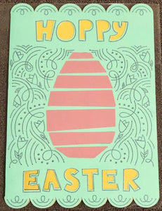 Decorative Hoppy Easter - Kards By Kyla