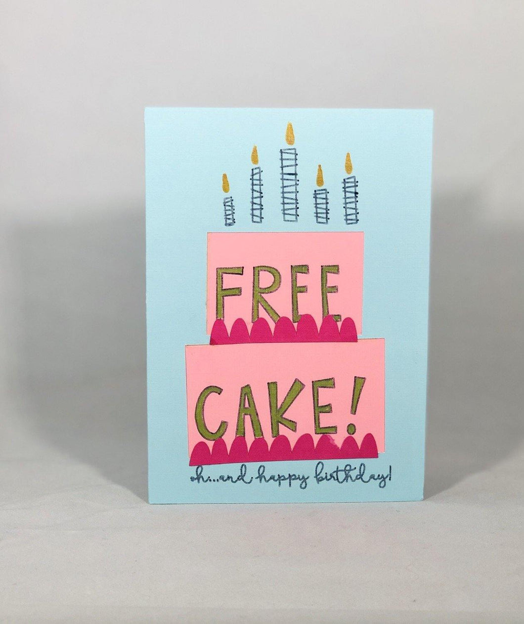Free Cake - Kards By Kyla