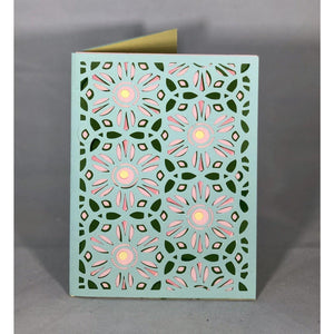 Geo Small Flowers - Kards By Kyla