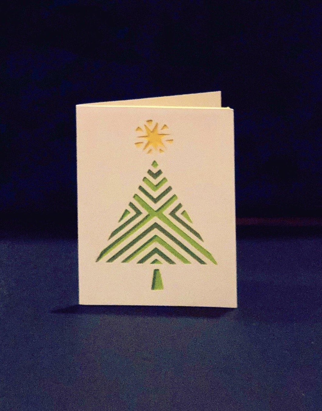 Geometric Tree - Kards By Kyla