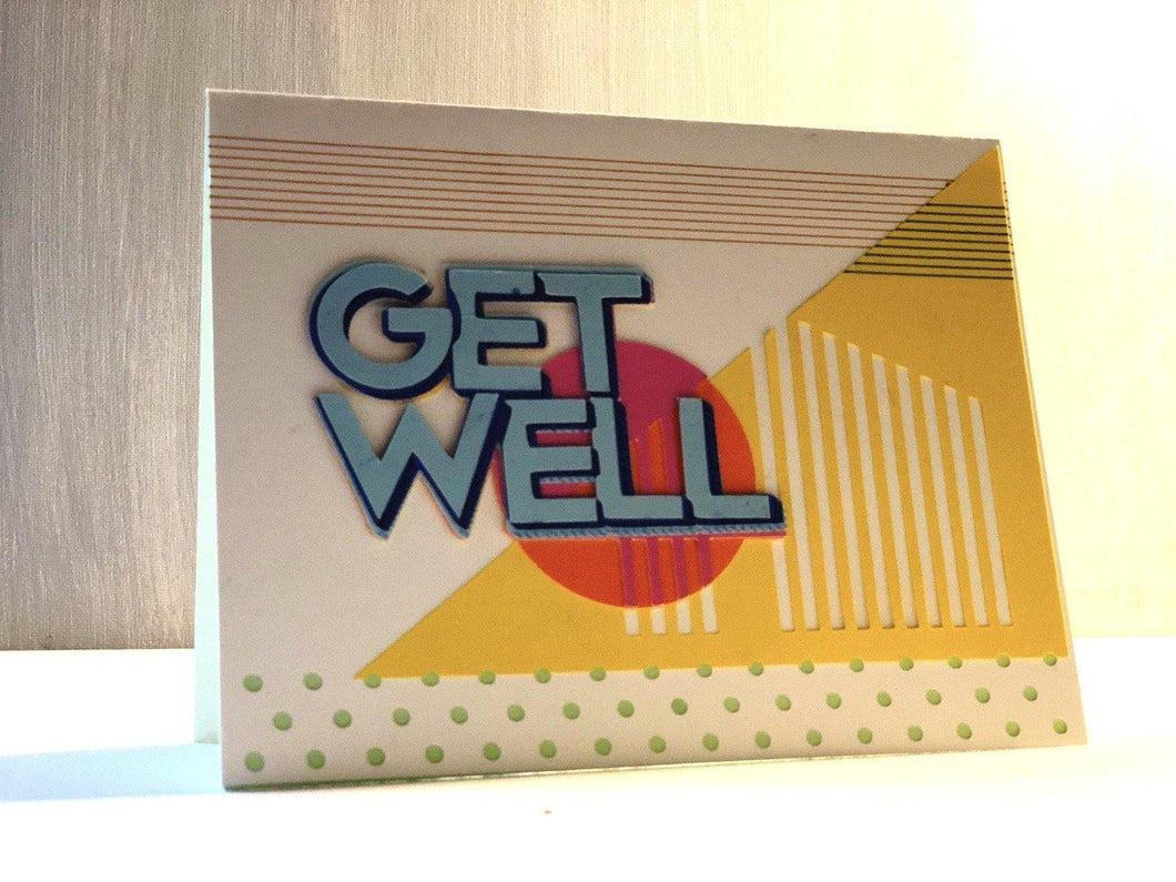 Get Well (Geometric ) - Kards By Kyla