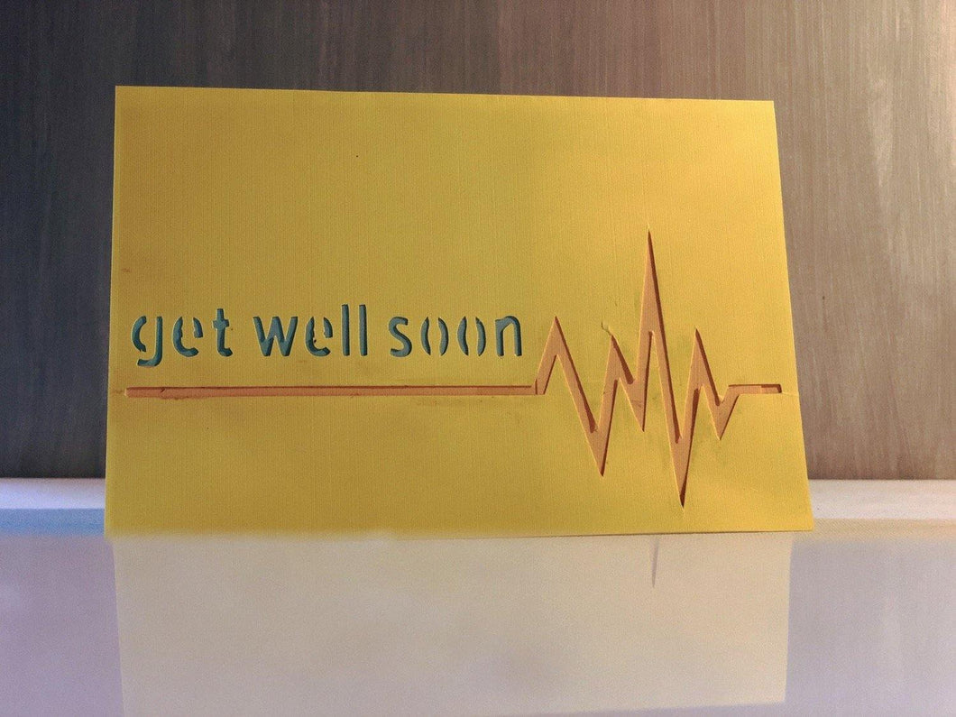 Get Well Soon (Heartbeat) - Kards By Kyla