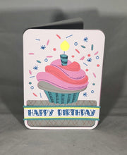 Load image into Gallery viewer, Happy Birthday Cupcake - Kards By Kyla