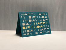 Load image into Gallery viewer, Happy Birthday (Letters) - Kards By Kyla