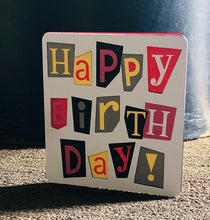 Load image into Gallery viewer, Happy Birthday (Squares) - Kards By Kyla