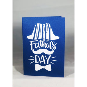 Happy Father's Day Hat and Bowtie