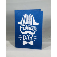 Load image into Gallery viewer, Happy Father's Day Hat and Bowtie