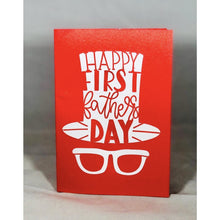Load image into Gallery viewer, Happy First Fathers Day - Kards By Kyla