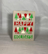 Load image into Gallery viewer, Happy Holiday Trees - Kards By Kyla