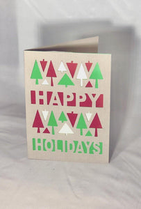 Happy Holiday Trees - Kards By Kyla