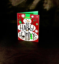 Load image into Gallery viewer, Happy Holidays Snowman - Kards By Kyla