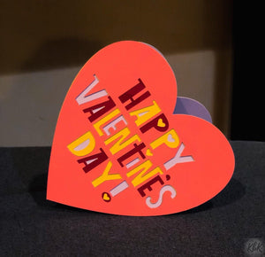 Happy Valentines Day Heart - Kards By Kyla